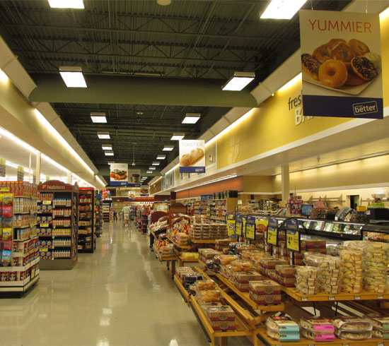 Food Section in Albertsons