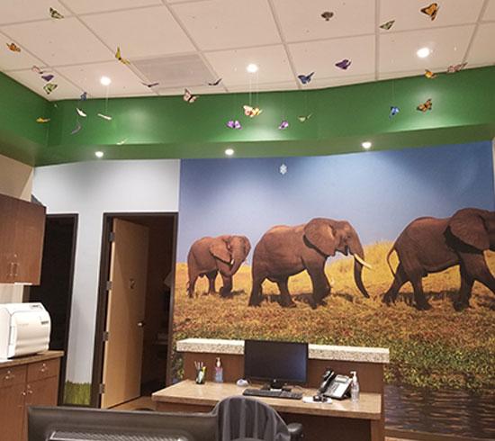 Agave Pediatrics tenant improvement