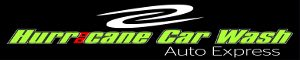 Hurricane Car Wash Logo